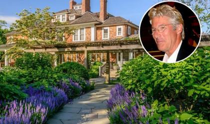 Ричард Гиър продаде имение в Лонг Айлънд за 36.5 млн. долара