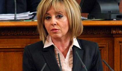 Мая Манолова няма да се кандидатира за президент
