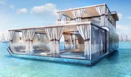Плаващи вили - бъдещето на луксозните домове