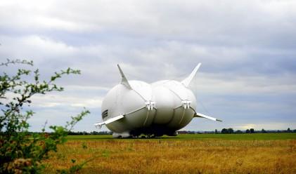 Най-големият самолет в света катастрофира при кацане