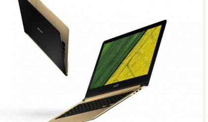 Acer представи най-тънкия лаптоп в света