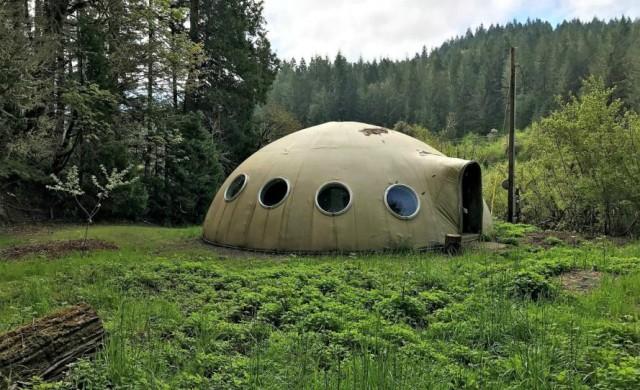 Тази куполна къща може да е ваша