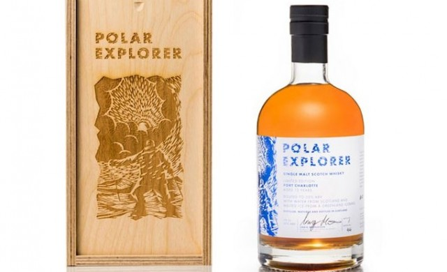Пуснаха шотландско уиски с вода от айсберг от Гренландия
