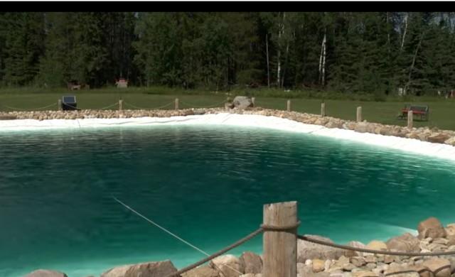 Мъж построи огромен басейн в задния си двор