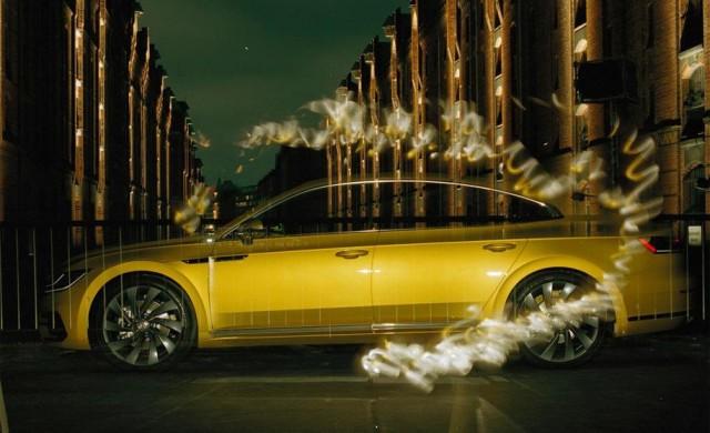 Сляп фотограф направи професионална фотосесия на VW Arteon