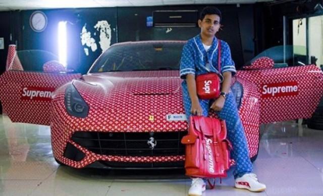Вижте какво направи този 15-годишен със своето Ferrari