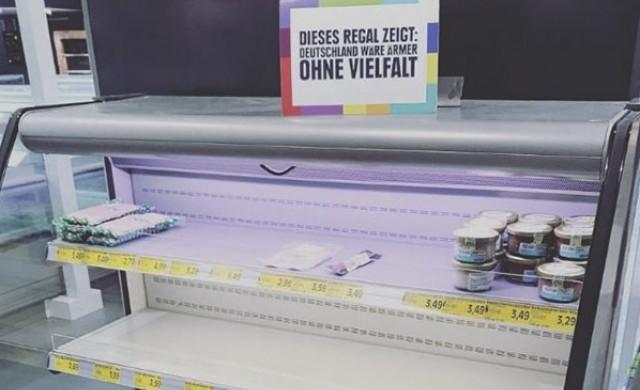 Супермаркет махна всички вносни храни от рафтовете си