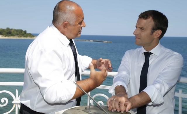 Борисов и Макрон хвърлиха саката