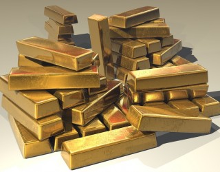 Четири държави притежават над 54% от златните резерви в света