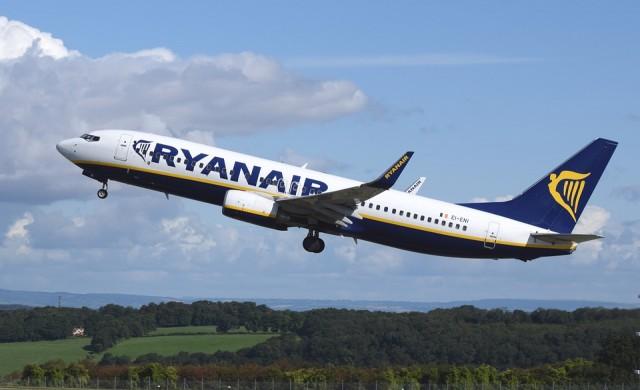 Ryanair отмени близо 400 полета заради мащабна пилотска стачка