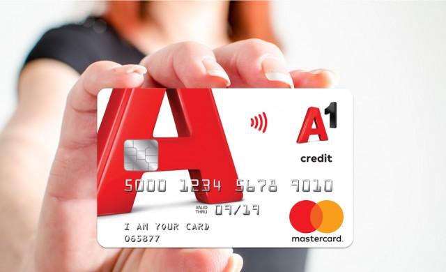 А1 вече предлага кредитна карта на своите клиенти