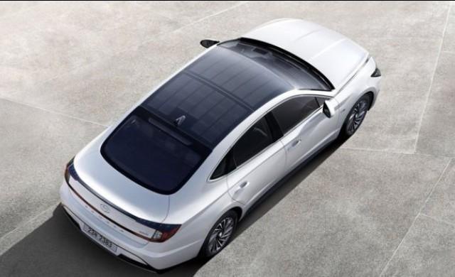 Hyunday пуска хибриден модел със соларен покрив