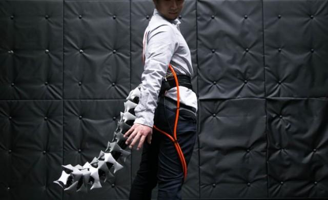 Японци създадоха роботизирана опашка за хора