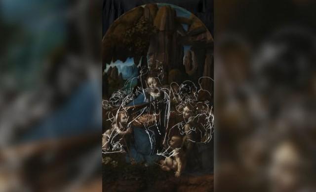 Изненадващо открие под картина на Леонардо да Винчи