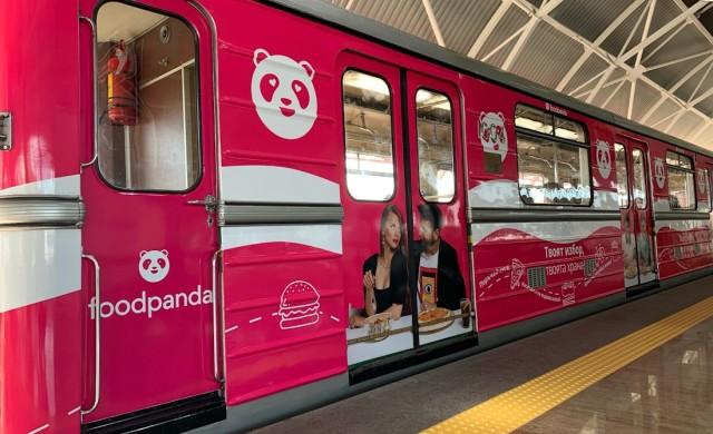 В софийското метро потегли розова мотриса