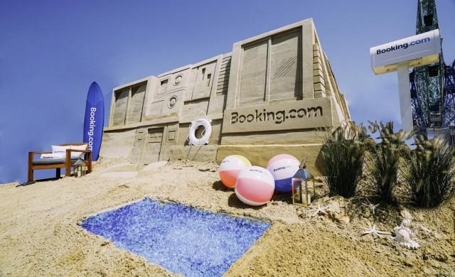 Вече можете да наемете пясъчен замък и дори да спите в него