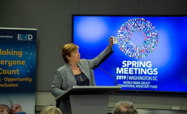 МВФ: Възрастовата граница за Кристалина Георгиева ще отпадне