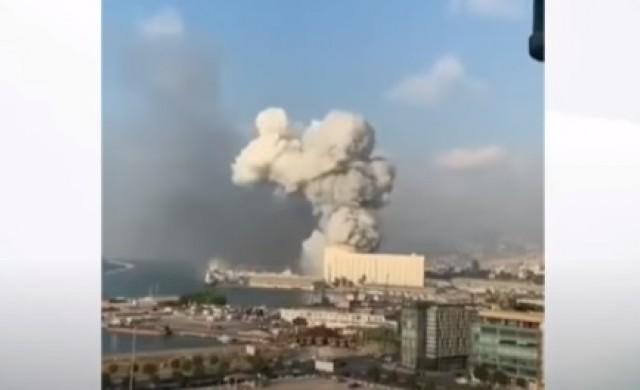 Мощна експлозия в Бейрут, щети върху българското посолство