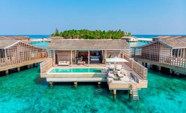 На Малдивите срещу 40 000 евро на вечер