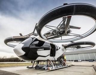 Airbus представи летящо такси, променящо начина на пътуване в градовете