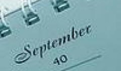 Business Calendar For The Week 10 - 16 September