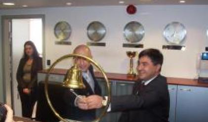 Търговията на БФБ днес бе открита от представители на Бианор и СБС
