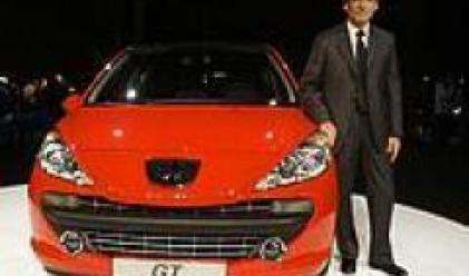 Peugeot 207 е най-продаваният модел в Европа от началото на годината