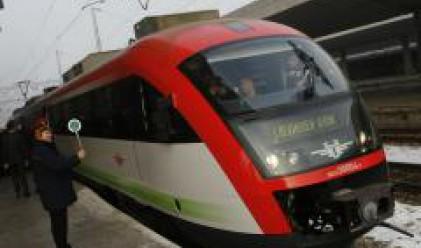Протести на служителите на държавните железници в Гърция