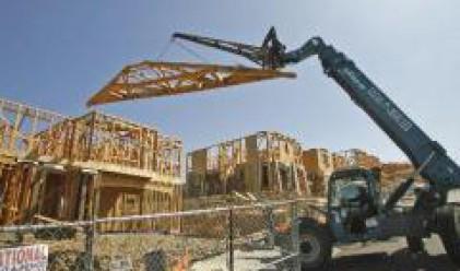 Началното жилищно строителство в САЩ най-ниско от 17 години през август