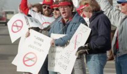 Общо 54% от работниците в България искат стачка