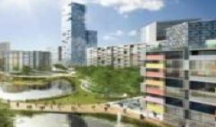 Кредитната криза удари и Олимпийското градче в Лондон
