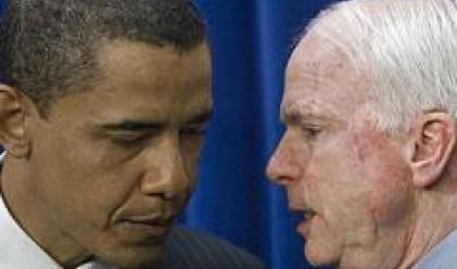 Обама и Маккейн: Заедно за решаване на кризата