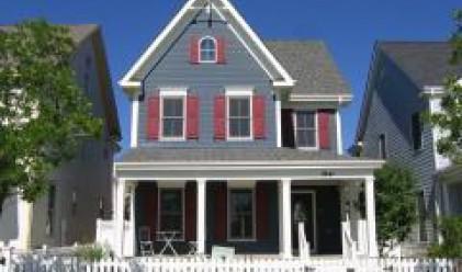 Продажната цена на съществуващите домове в САЩ с рекорден спад