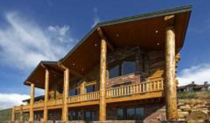 Дървената къща се строи лесно и бързо