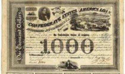Обезсилени акции от 19-и век се продават по-скъпо от тези на действащи банки днес