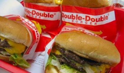 Хамбургер остана свеж цели четири години