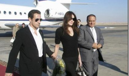 Г-жа Саркози е новата муза на Уди Алън