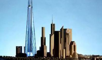 Строителството на Russia Tower официално е спряно
