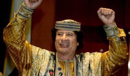 Преводачът не издържа речта на Кадафи