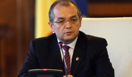 Отстранен е румънският вътрешен министър