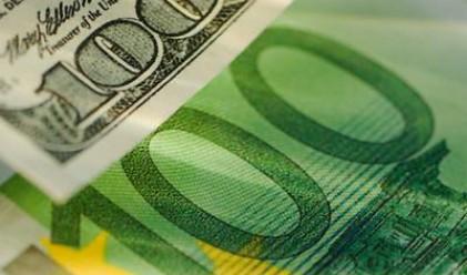 Еврото с триседмичен връх спрямо долара