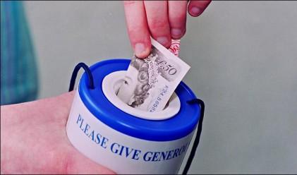 В Австралия дават най-много пари за благотворителност