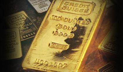 Златото доближи нивото от 1300 долара за тройунция