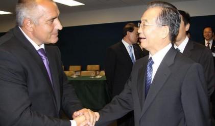 Дзябао: Насърчаваме китайски фирми да инвестират в България