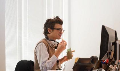 Петте смъртни гряха на храненето в офиса
