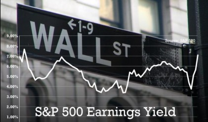 S&P 500 с по-добра дивидентна доходност от 10-годишните ДЦК