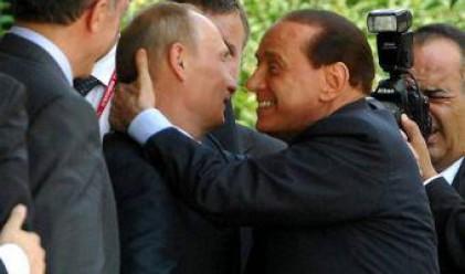 Путин защити половата мощ на Берлускони