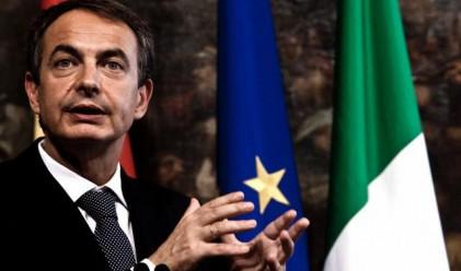 Хосе-Луис Сапатеро разпусна испанския парламент