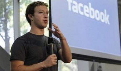 Закърбърг разочарован заради срива на акциите на Facebook