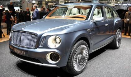 Bentley потвърди дизайна на готвения 4х4